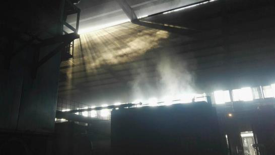 炭化炉车间无组织排放严重(图片来源:生态环境部)
